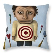 Wtf 2 No Words Throw Pillow by Leah Saulnier The Painting Maniac