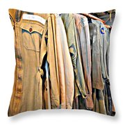 Wwii Flight Suits Throw Pillow