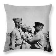 Wwii: Flying Cross Awards Throw Pillow