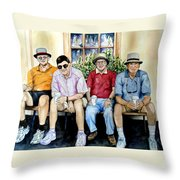Wwii Heroes Throw Pillow