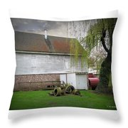 Wye Mill Throw Pillow