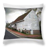 Wye Mill - Street View Throw Pillow