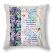 x Judaica Prayer Of Protection Throw Pillow