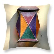X Marks The Lamp Throw Pillow