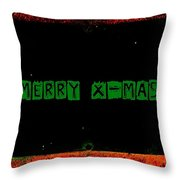 X-mas Throw Pillow