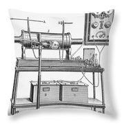 X-ray Machine Throw Pillow