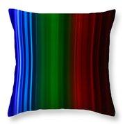 Xenon Spectra Throw Pillow