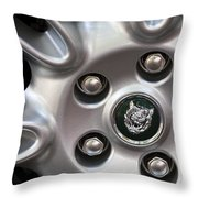 Xjs Wheel Throw Pillow