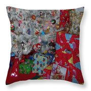 Xmas Presents 03 Throw Pillow