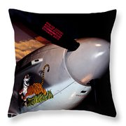 Yakovlev Yak-9u Frank Throw Pillow