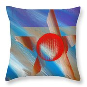 Yamaha Star Throw Pillow