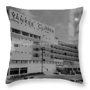 Yankee Clipper Throw Pillow