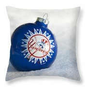 Yankees Ornament Throw Pillow