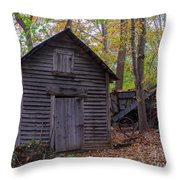 Ye Olde Shed Throw Pillow