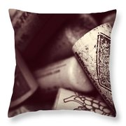 Years Of Cheers Throw Pillow