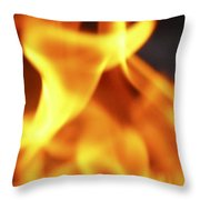 Yellow Dance Throw Pillow