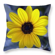 Yellow Flower 4 Throw Pillow