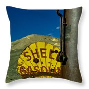 Yellow Is For Shell Throw Pillow