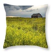 Yellow Sweet Clover Melilotus Throw Pillow