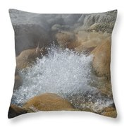 Yellowstone Hot Springs 9499 Throw Pillow