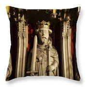 York Minster's Choir Screen Throw Pillow
