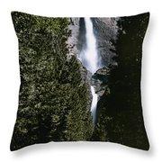 Yosemite Falls, Yosemite National Park Throw Pillow