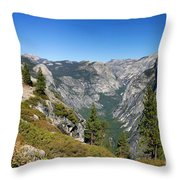Yosemite Half Dome Throw Pillow