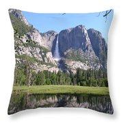 Yosemite National Park Usa Throw Pillow
