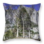 Yosemite Reflection Throw Pillow