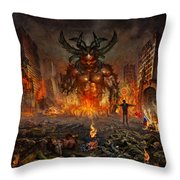 You Allow Them To Rule Our World Throw Pillow
