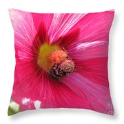You And Me Are One Said The Bee Throw Pillow