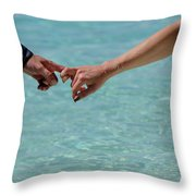 You And Me. Togetherness Throw Pillow