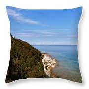 You Can See For Miles Throw Pillow