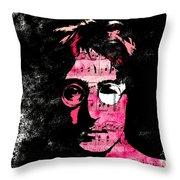 You Say I Am A Dreamer Throw Pillow