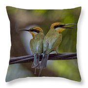 You Watch My Back And I Watch Yours V2 Throw Pillow