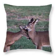 Young Bucks Throw Pillow