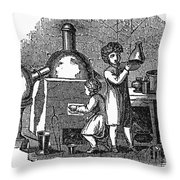 Young Chemists Throw Pillow