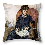 Young Frederick Douglass Throw Pillow by Granger