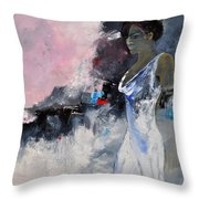 Young Girl 772130 Throw Pillow