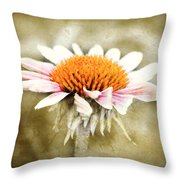 Young Petals Throw Pillow