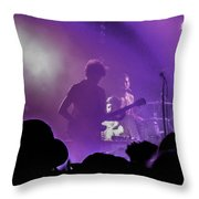 Young The Giant At Stubbs. Throw Pillow