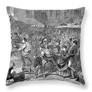 Young Thief, 1868 Throw Pillow