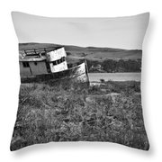Young Visitor Throw Pillow