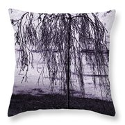 Young Weeper Throw Pillow