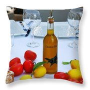 Your Table Is Ready 2 Throw Pillow
