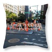 Your Tax Dollars At Work Throw Pillow