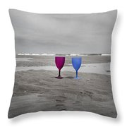 Your Wine Is Waiting Throw Pillow
