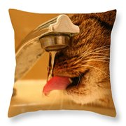 Yummy Water Throw Pillow
