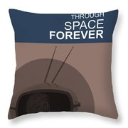 Yuri Gagarin Poster Throw Pillow