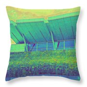Yvr Vancouver International Airport Throw Pillow